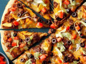 طرز تهیه پیدزا مکزیکی
