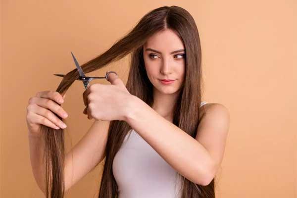 کوتاه کردن مو برای جلوگیری از ریزش مو
