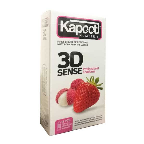 کاندوم سه بعدی کاپوت ۳DSENSE