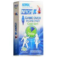 کاندوم چهار کاره خنک گیم آورNACH-Game Over