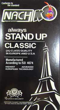 کاندوم کلاسیک کدکس nach stand up