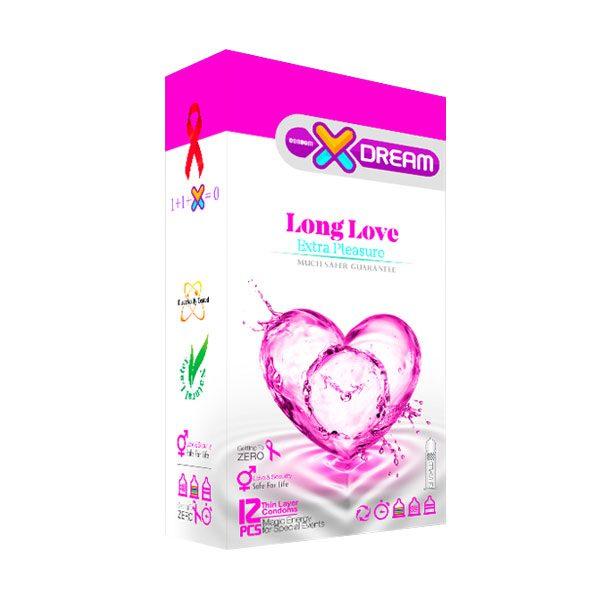 کاندوم لذت طولانی ایکس دریم long love