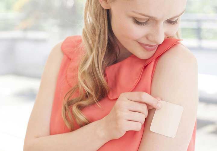 چسب و حلقه برای جلوگیری از بارداری