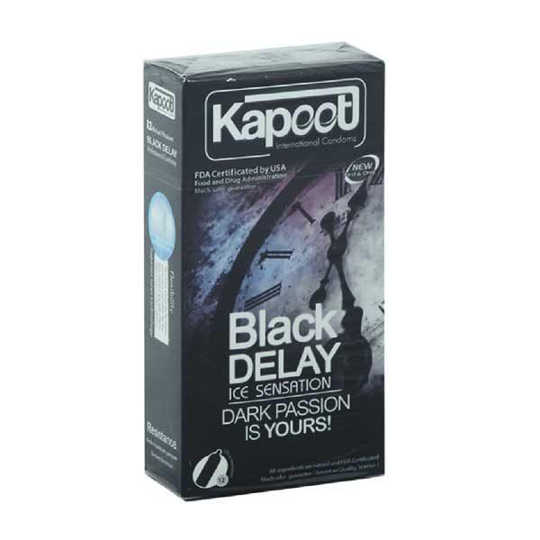 کاندوم تاخیری black delay
