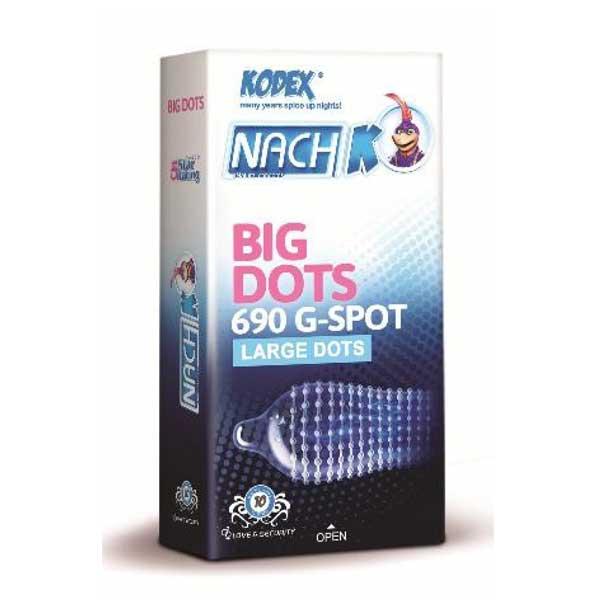 کاندوم خاردار درشت ناچ کدکس big dots بهترین کاندوم خاردار