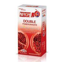 کاندوم ناچ با رایحه انار و حس گرما Nach Double pomegranate