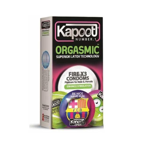 کاندوم خاردار و تاخیری کاپوت مدل Orgasmic