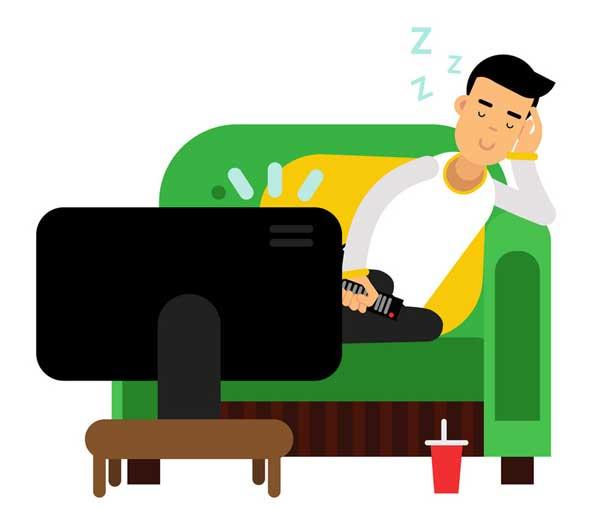 تاثیر تلویزیون بر روابط زناشویی