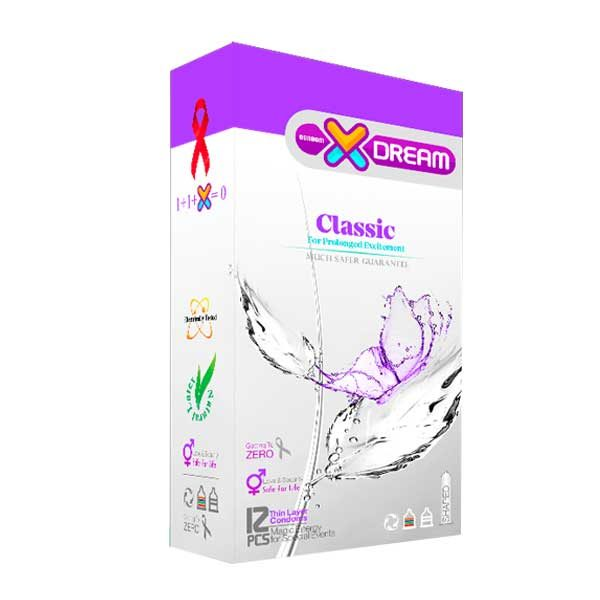 کاندوم کلاسیک ایکسدریم Xdream Classic