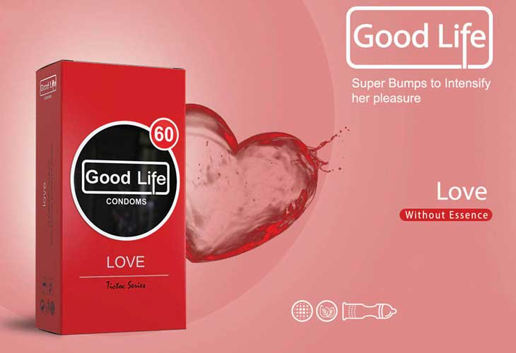 کاندوم گودلایف مدل love