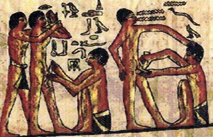 کاندوم در مصر باستان