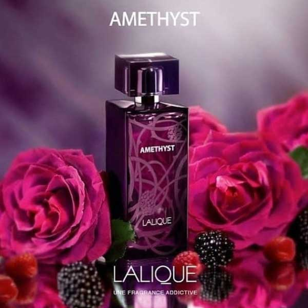 عطر ادکلن لالیک آمیتیس بنفش زنانه Lalique Amethyst حجم ۱۰۰ میلی لیتر