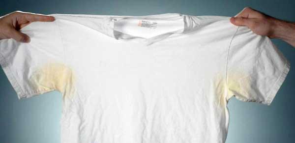 لباس زیر خود را بعد از هر بار عرق کردن عوض کنید