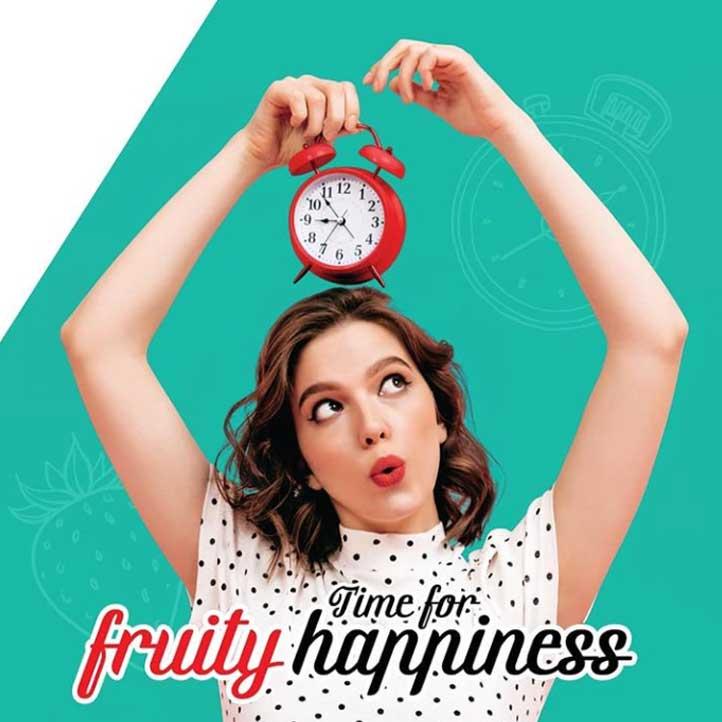 کاندوم میوه ای تاخیری اسکارلت مدل LOVELY FRUITY