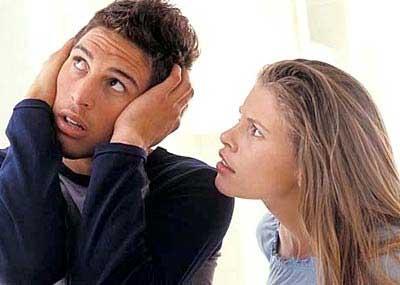 گوش ندادن به صحبت همسر